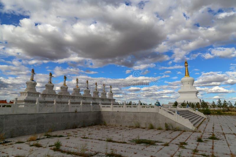 寺庙是这样一个有趣的地方,并且大厦是非常美丽的 库存照片