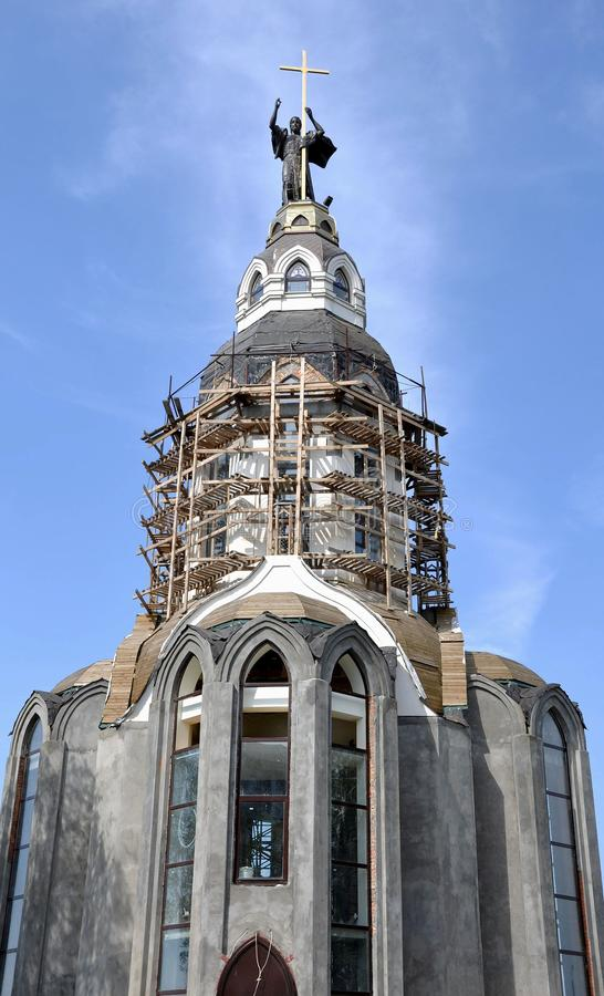 Download 寺庙的照片建设中 库存照片. 图片 包括有 壮丽, 宗教信仰, 中止, 伟大, 教会, 高度, 雕象, 布琼布拉 - 30334640