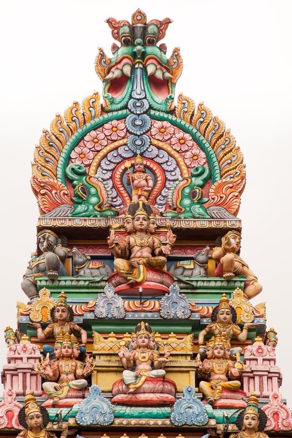 寺庙装饰 免版税库存图片