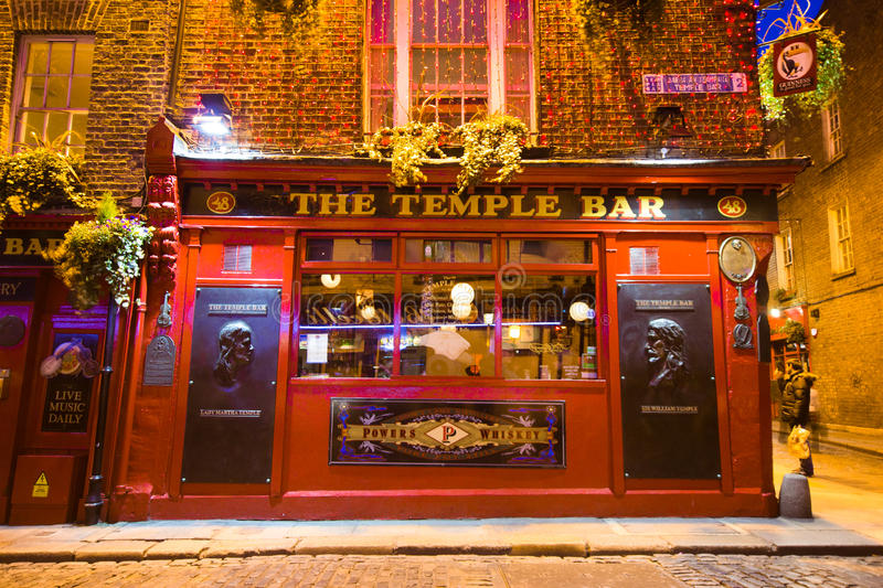 寺庙酒吧都伯林 库存图片