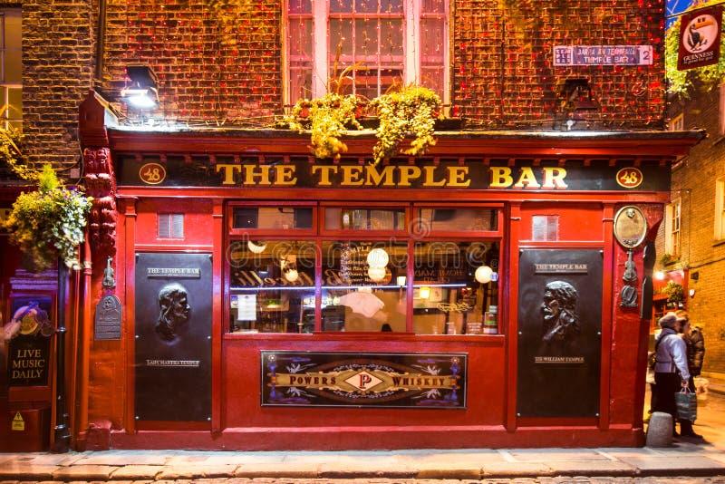 寺庙酒吧都伯林 免版税库存照片