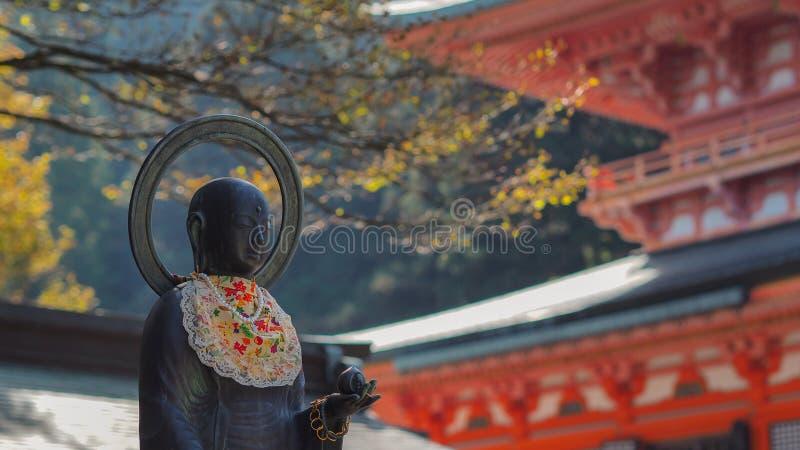寺庙雕象 库存照片