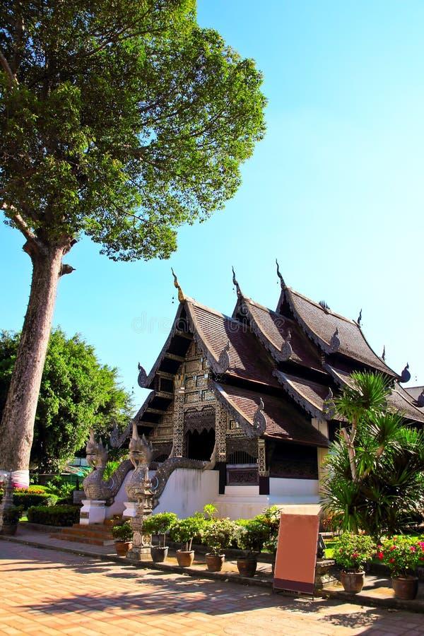 寺庙风景 免版税库存照片