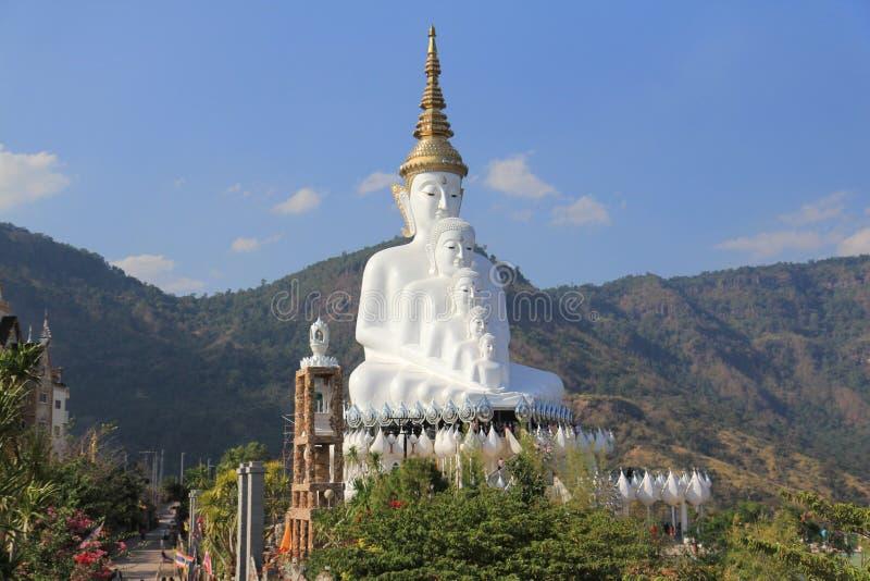 寺庙Petchaboon泰国 免版税库存照片
