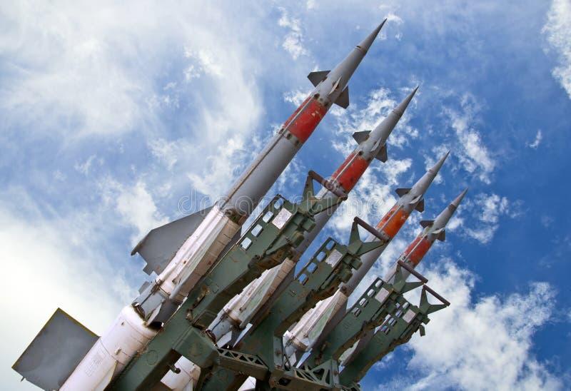 导弹武器 免版税库存图片