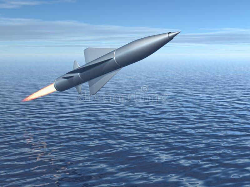 导弹 向量例证