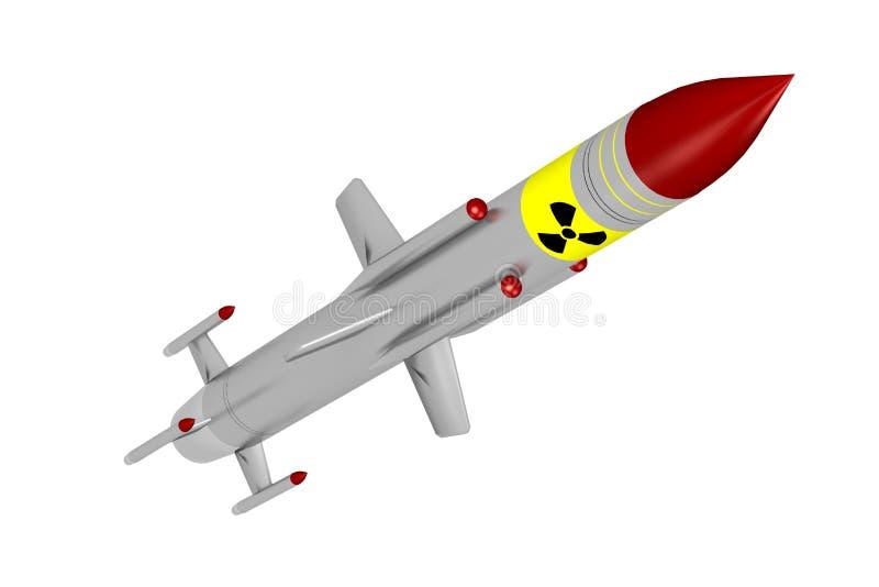 导弹 皇族释放例证