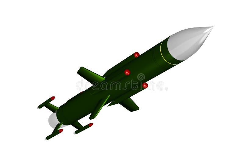 导弹 库存例证