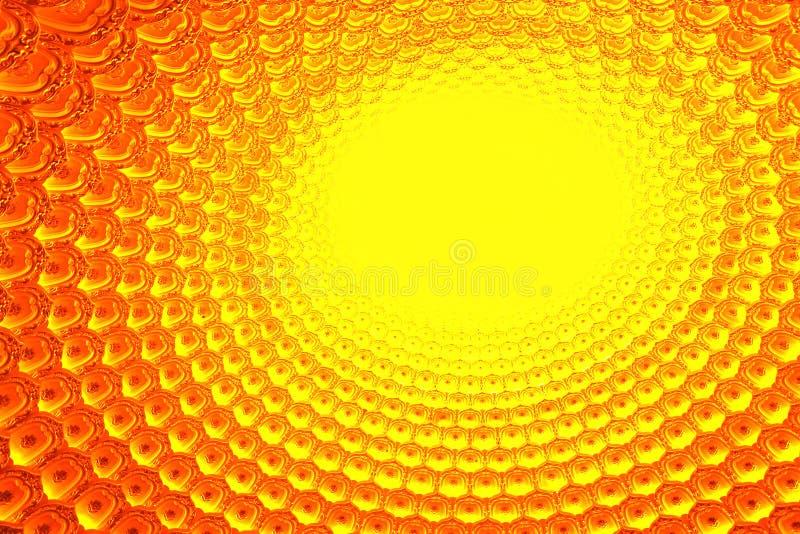 导致的模式黄色 免版税库存图片
