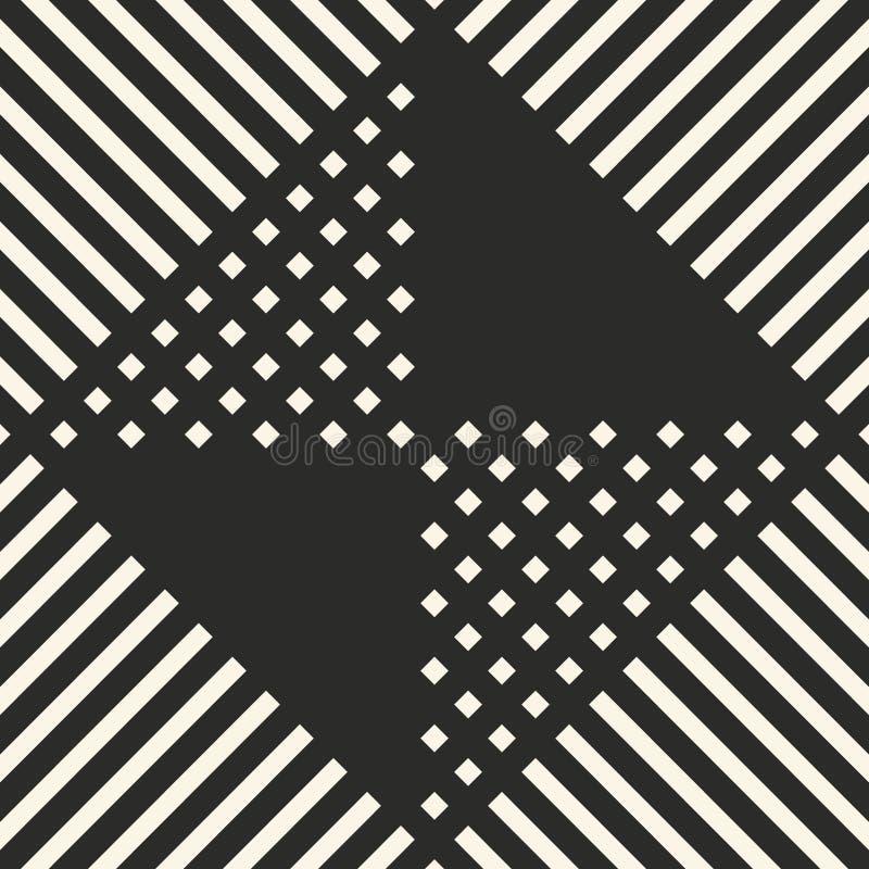 导航几何墙纸和背景的菱形无缝的样式 向量例证