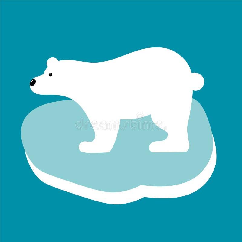 v触角北极熊的触角在平的样式的蜗牛的例证有啥用图片