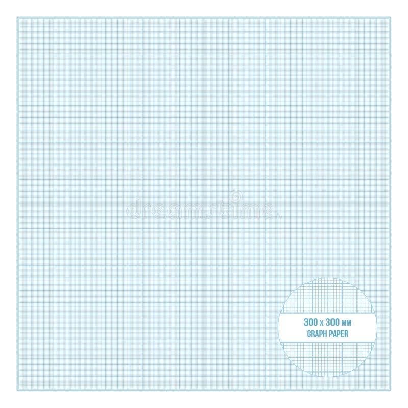 导航可印的公尺座标图纸30x30 cm大小 皇族释放例证
