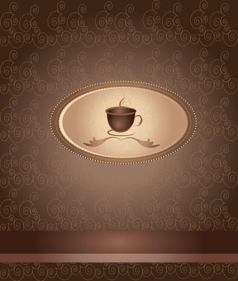 菜单咖啡传染媒介