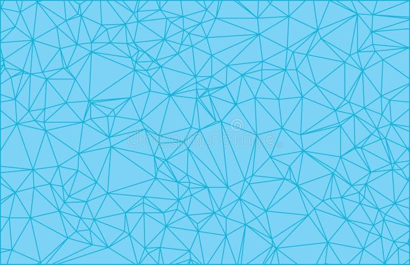 导航多角形抽象现代多角形几何三角背景 向量例证