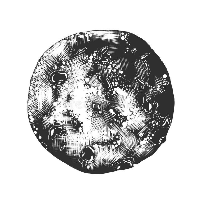 导航海报的被刻记的样式例证,装饰 库存例证