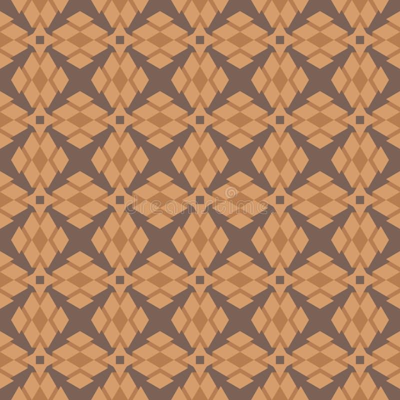 导航深灰背景棕色树荫等边三角形的例证抽象装饰品  向量例证