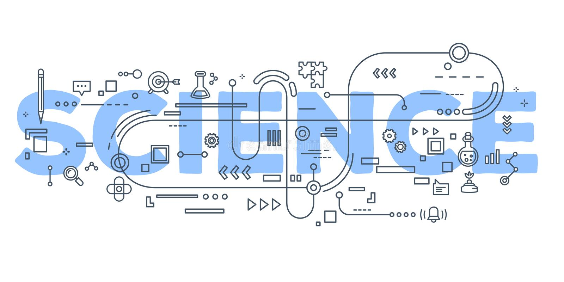 导航科学词字法typograph的创造性的例证 向量例证