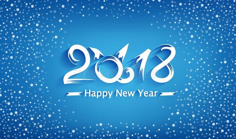 导航背景狗创造性的te的新年年 皇族释放例证