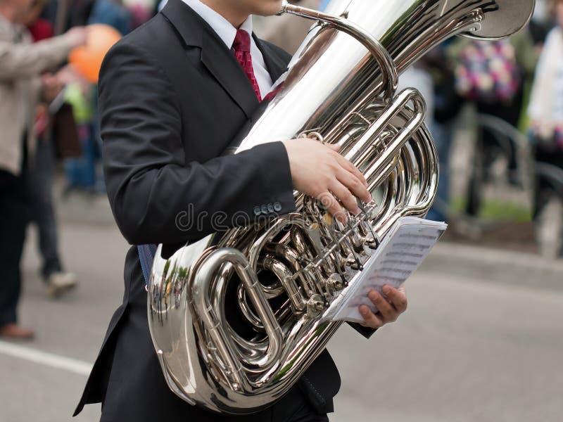 导航音乐会 库存图片