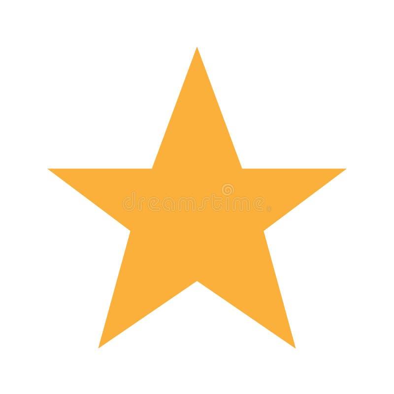 导航绿色玻璃星 向量例证