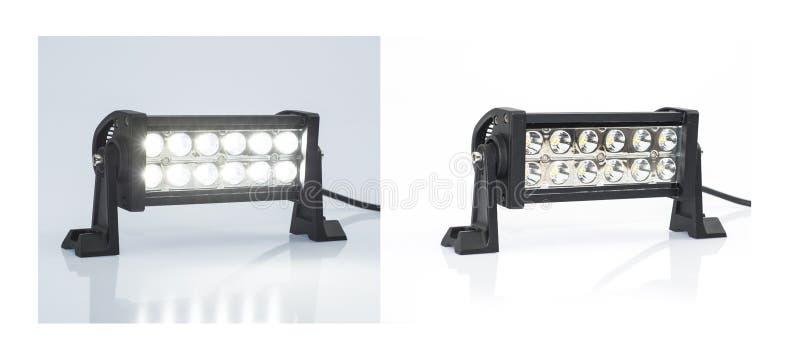 导致的照明设备 免版税图库摄影