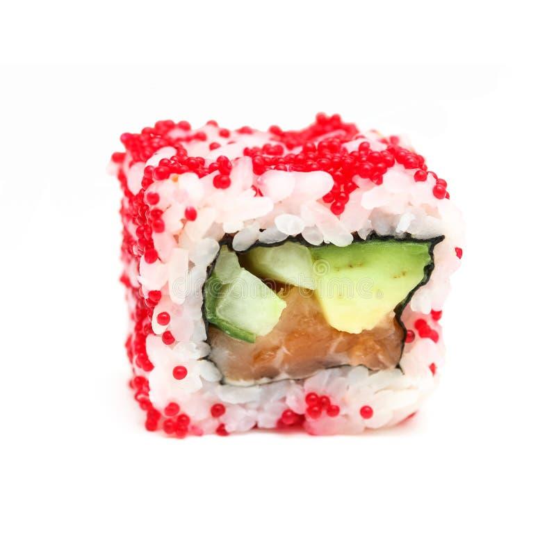 寿司卷阿拉斯加 免版税图库摄影