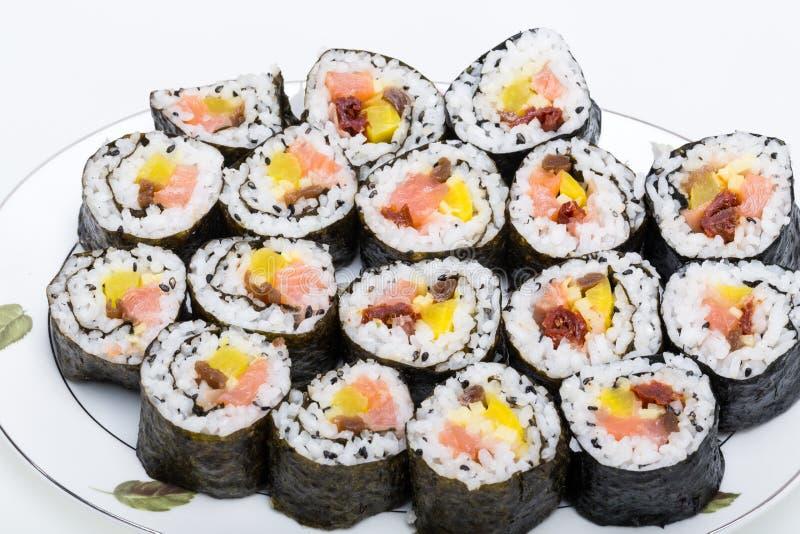 寿司新maki卷 库存图片