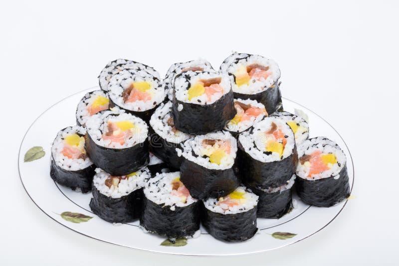 寿司新maki卷 库存照片
