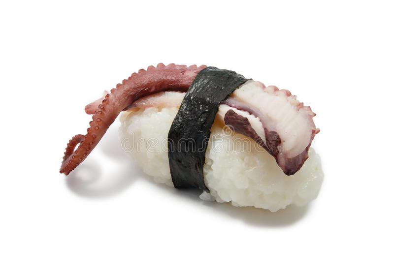 寿司用章鱼 免版税库存图片