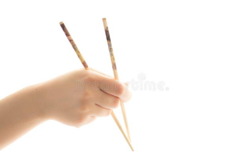 寿司筷子 免版税库存照片