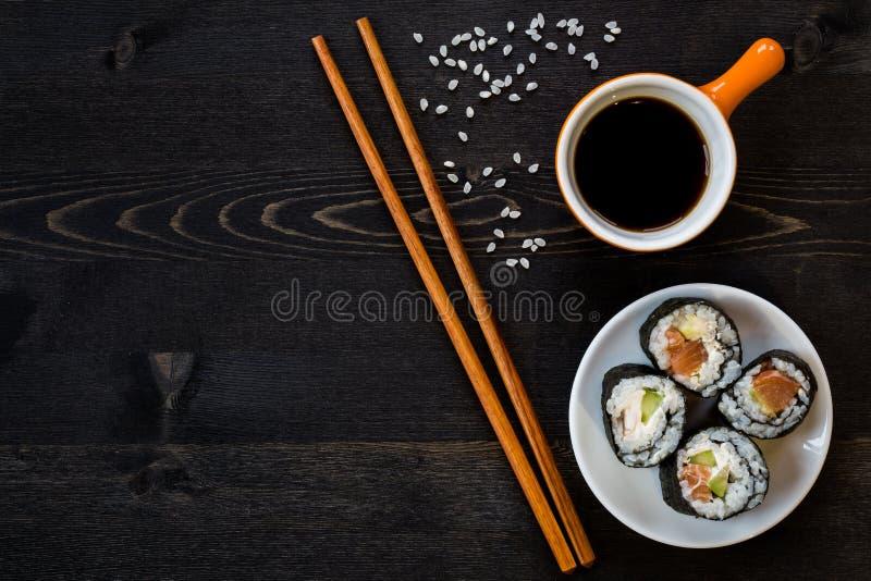 寿司膳食 免版税库存照片