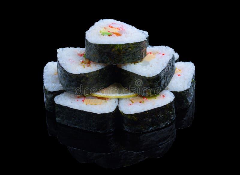寿司集合 免版税库存照片