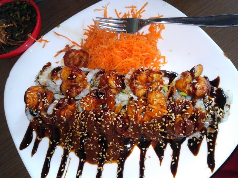 寿司食物亚洲人 图库摄影