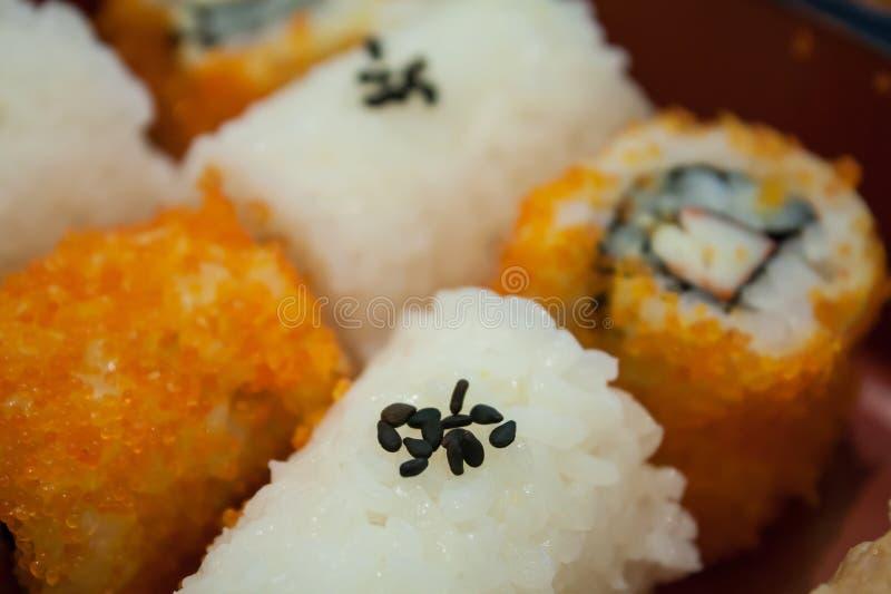 寿司,关闭 免版税库存照片