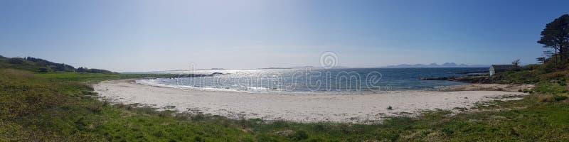 封印岩石,苏格兰 免版税库存照片