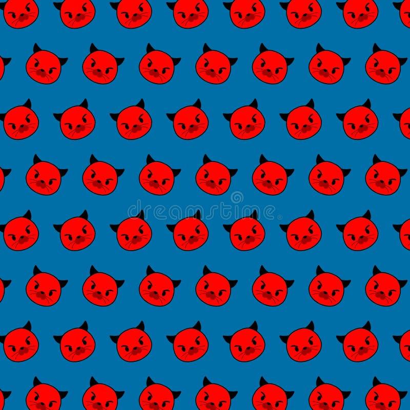 封印- emoji样式79 向量例证
