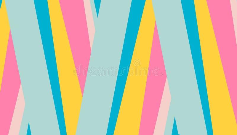 封面设计的摘要样式明亮的色的条纹背景 传染媒介飞行物的,传单,杂志设计模板 向量例证