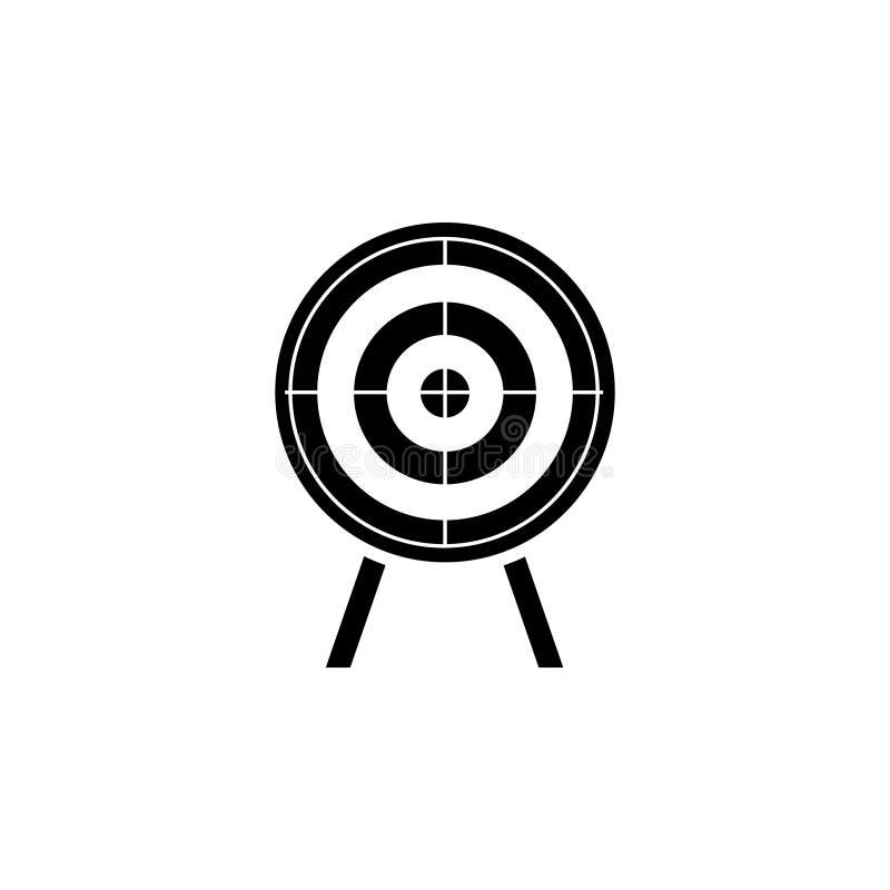 射击的目标 目标 向量例证