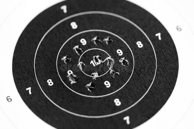 射击目标 免版税图库摄影