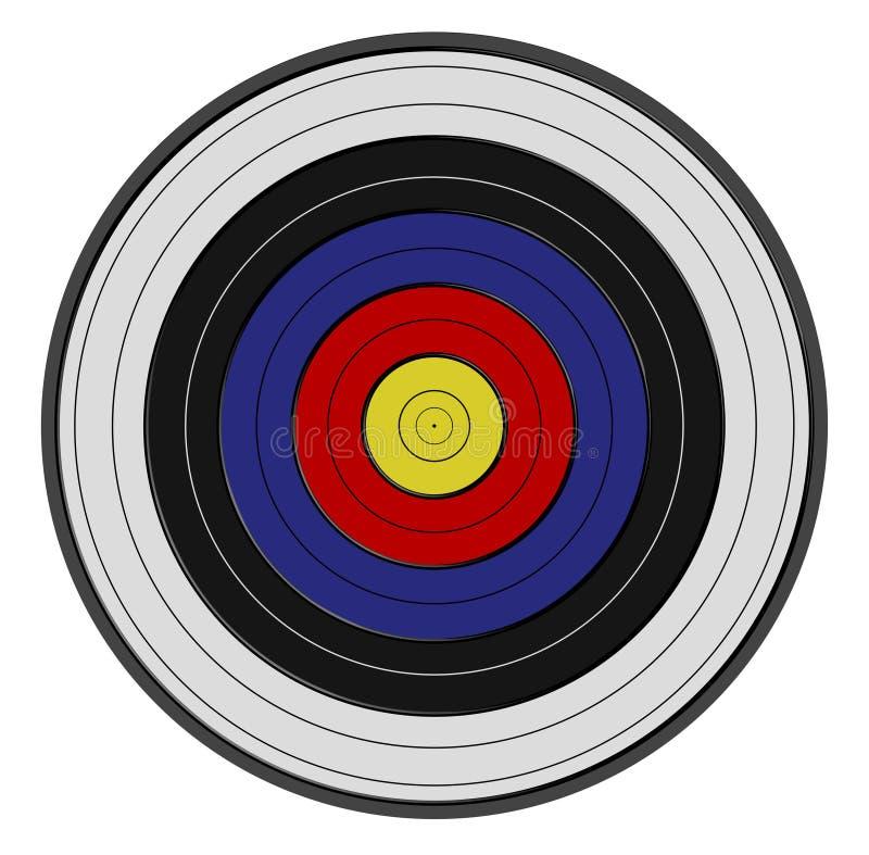 射手座s目标 库存例证
