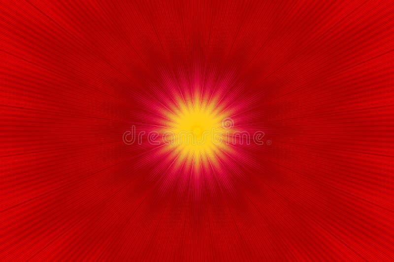 射线光芒背景例证光 元素焕发 皇族释放例证