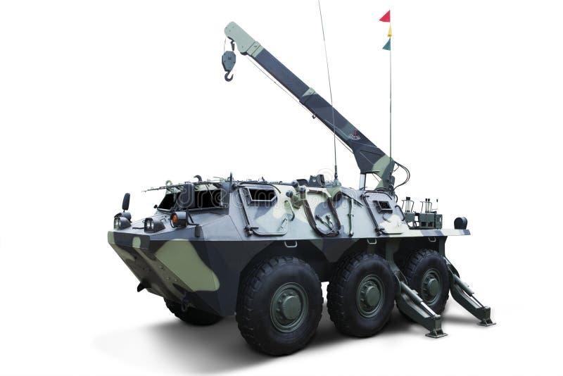 射击陆军坦克 免版税图库摄影