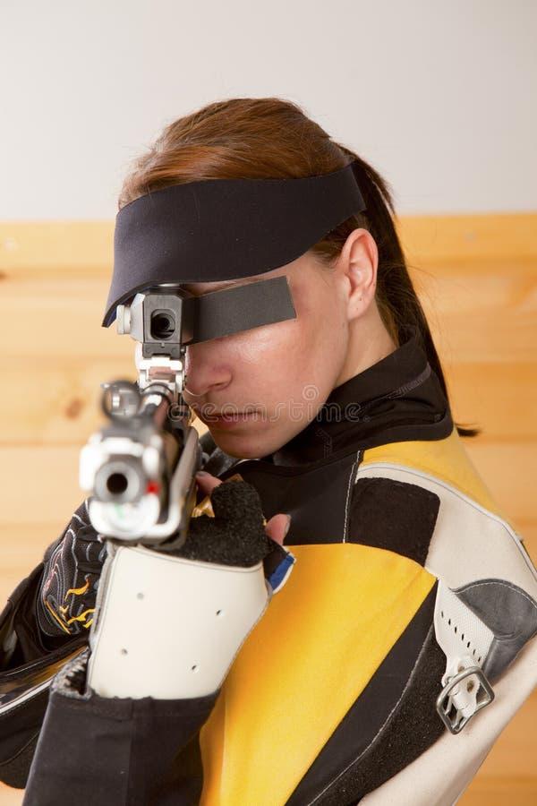 射击 免版税库存照片