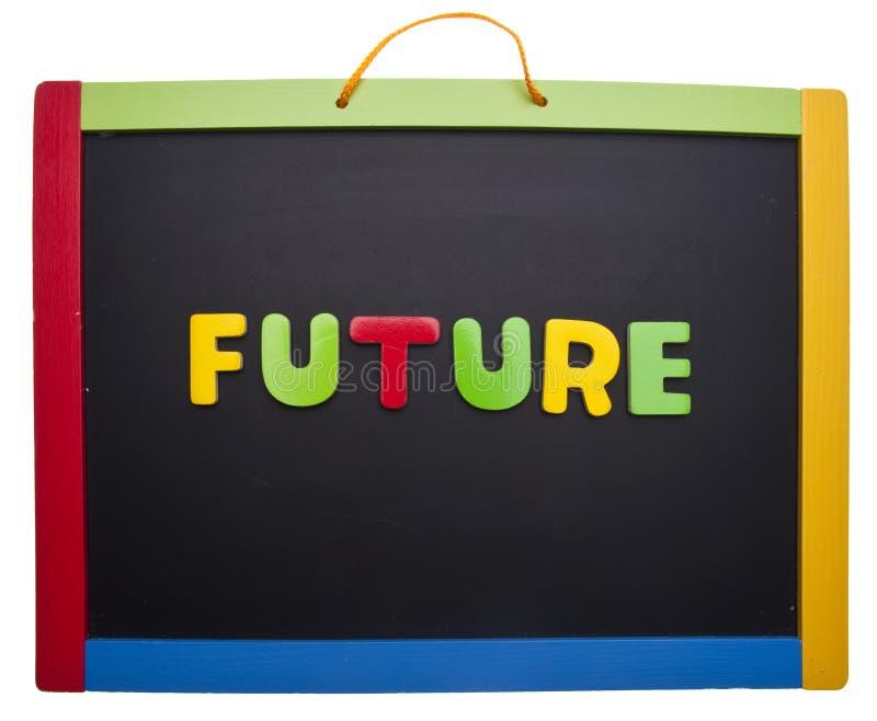 将来的课程 免版税图库摄影
