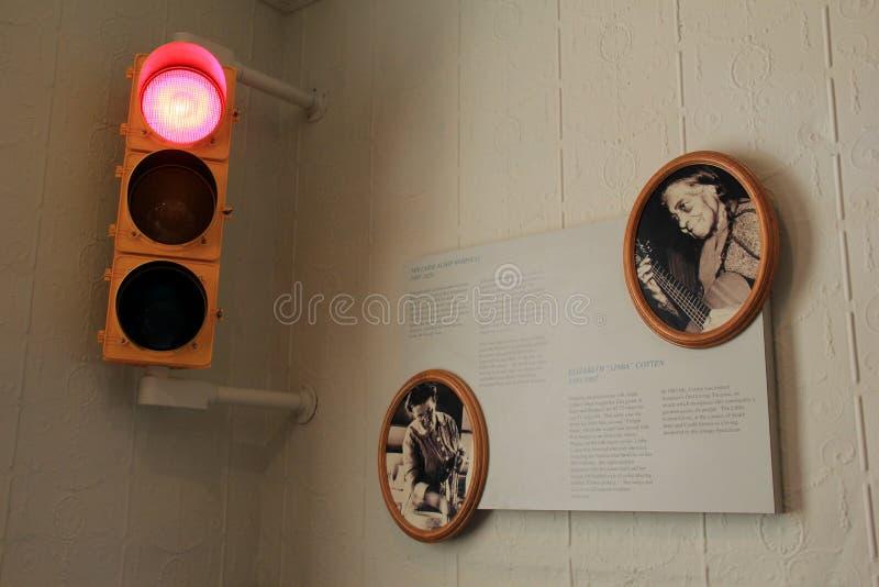 尊敬传奇Libba棉花,伊利运河博物馆,西勒鸠斯,纽约的图象和情报匾, 2017年 库存图片