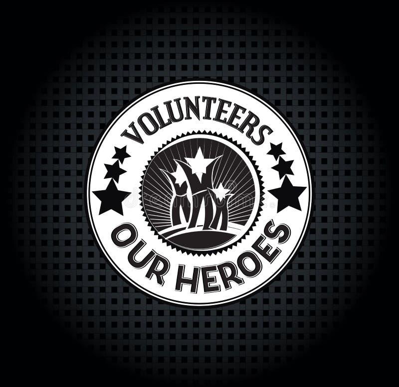 尊敬志愿者 库存照片