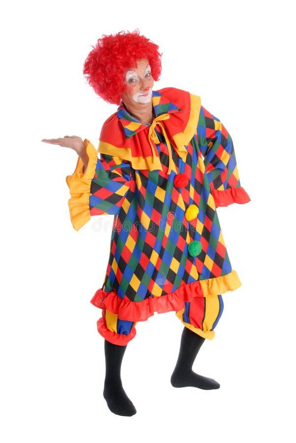 小丑万圣节 免版税库存照片