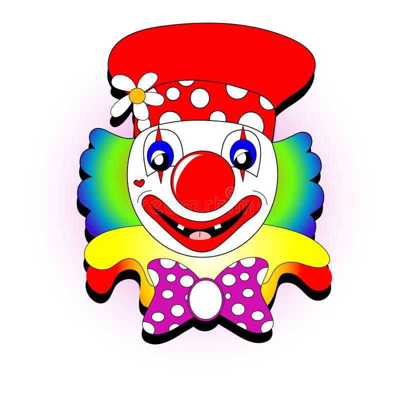 小丑例证 皇族释放例证