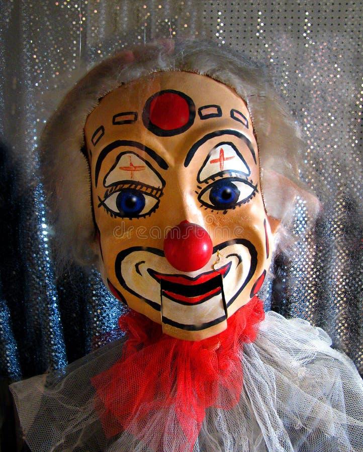 小丑木偶 免版税库存照片