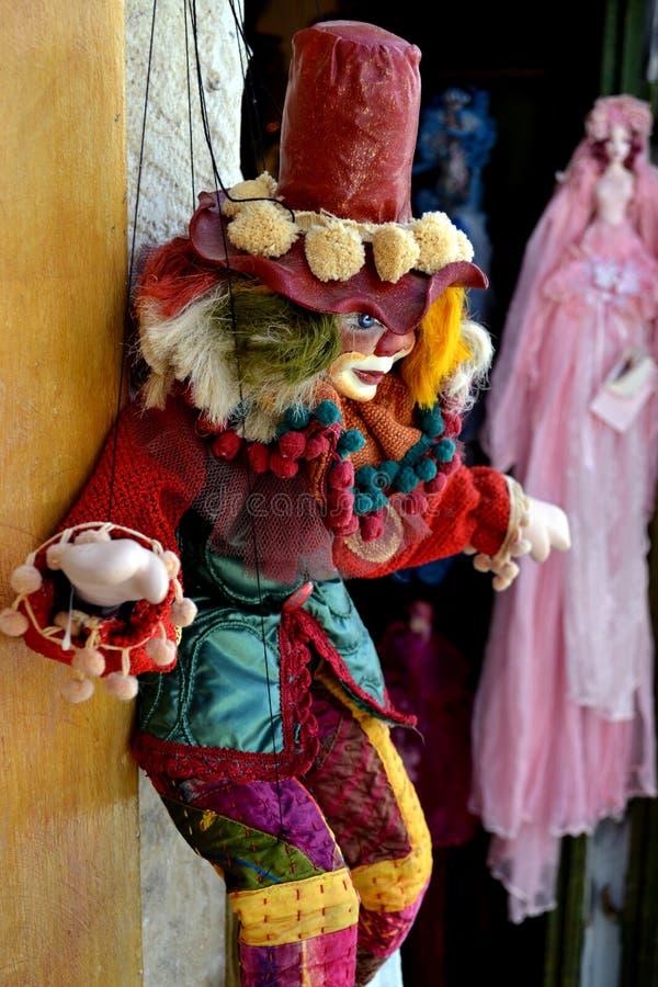 小丑玩具 库存照片